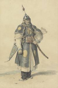 viaggio in mongolia guerriero mongolo