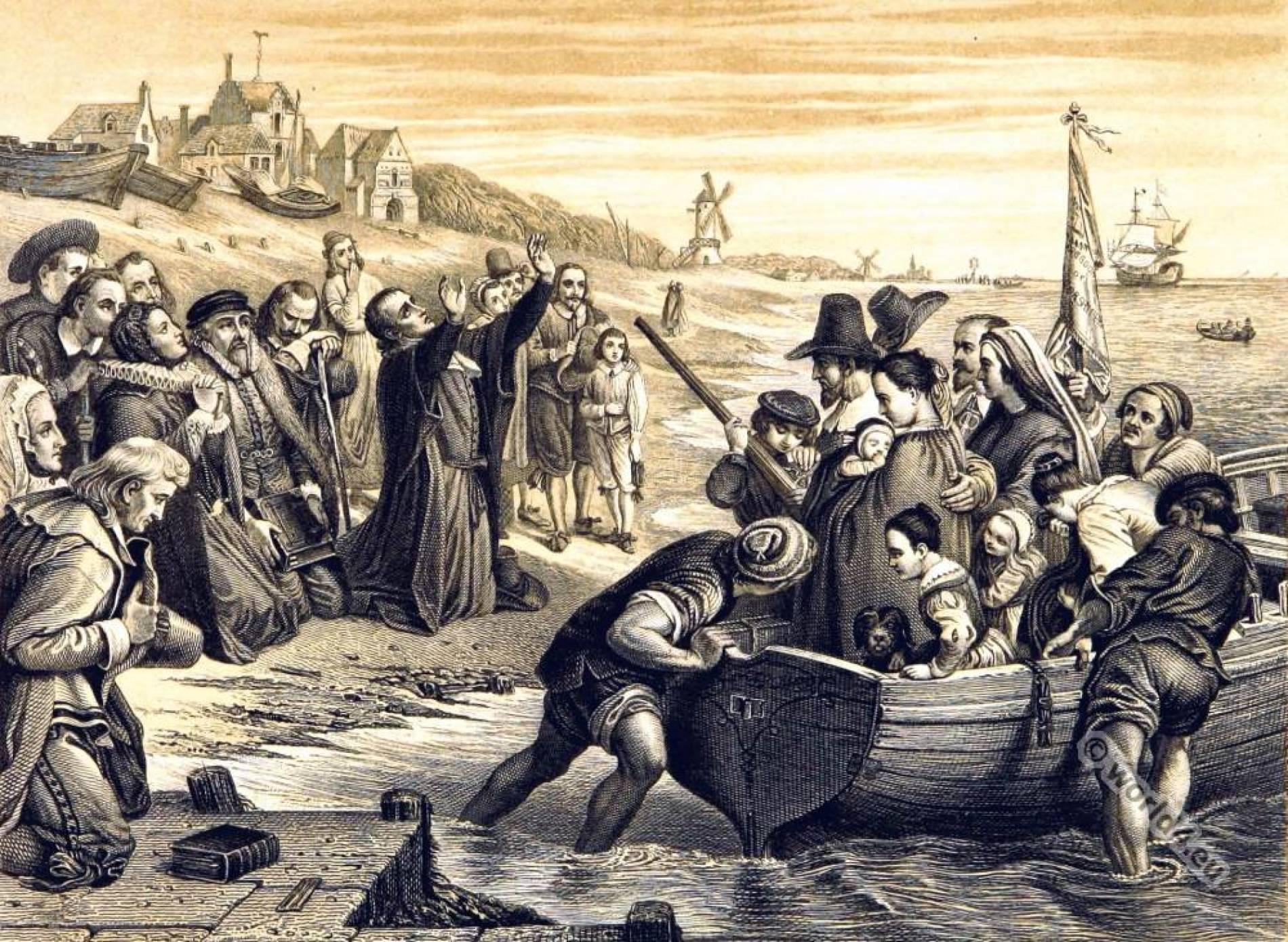 I puritani del Myflower