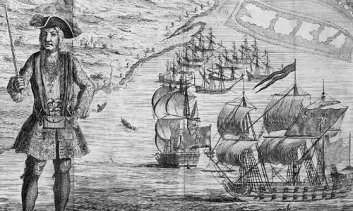 Le rotte dei pirati