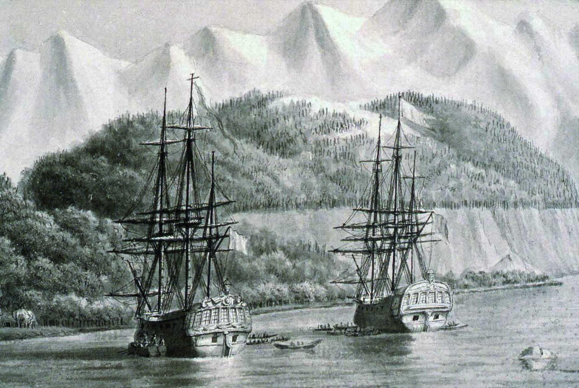 Esplorazioni francesi nel Pacifico
