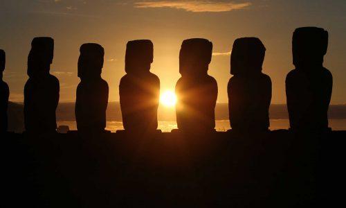 Statue isola di Pasqua: l'enigma Moai