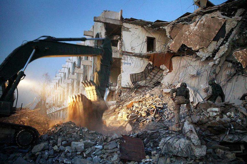 Iraq guerra Baghdad sitruzioni