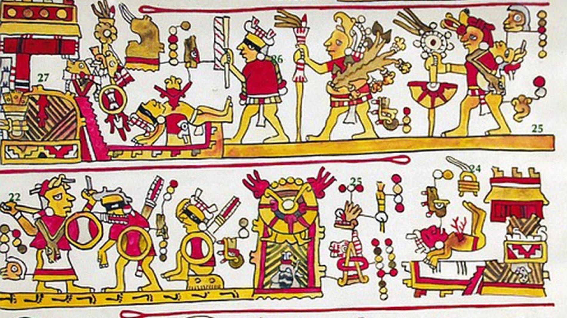 Scrittura azteca e Codici