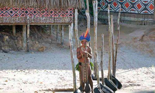 Indios dell'Amazzonia boliviana