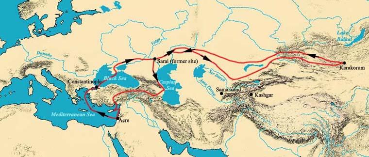 Viaggio in Mongolia itinerario