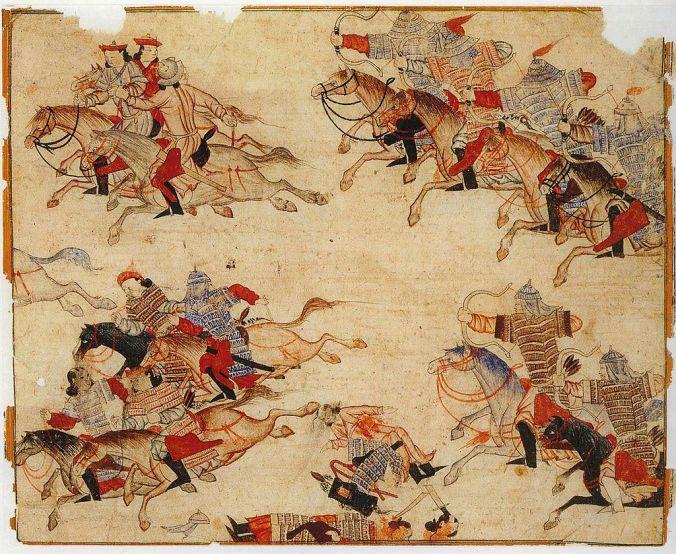 Giovanni da Montecorvino cavalieri mongoli