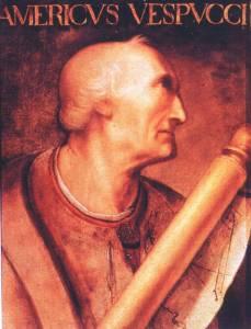 Amerigo Vespucci ritratto di Anonimo XVI sec.