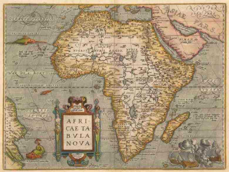 Photo of Cartografia dell' Africa