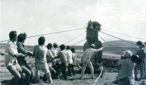 esperimento 1986 statue moai isola di pasqua