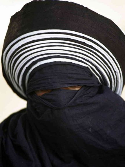 turbante tuareg