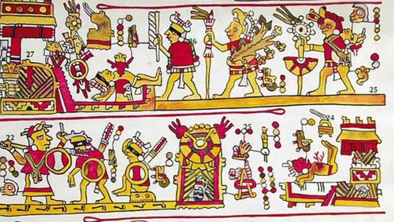 scrittura azteca