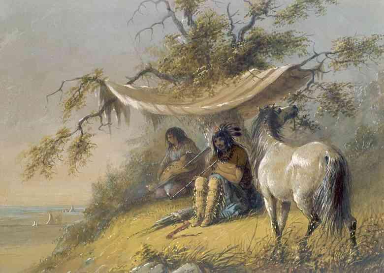 indiani delle pianure centrali