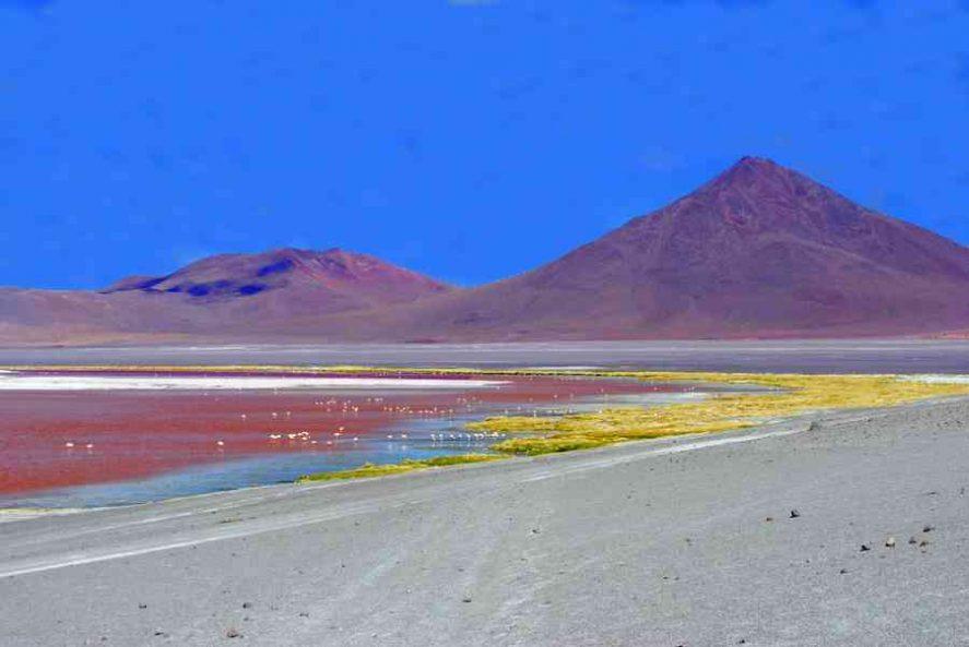 Bolivia Ande laguna