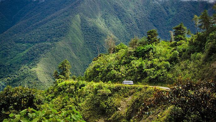 cammino yungas amazzonia bolivia