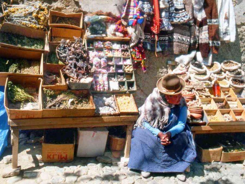 la paz capitale della bolivia