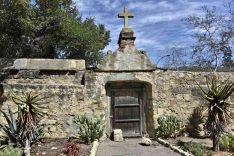 Usa Ca St Barbara col Mission (6)