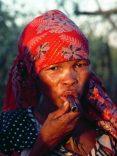 Botswana Kalahari Boscimani ritratto