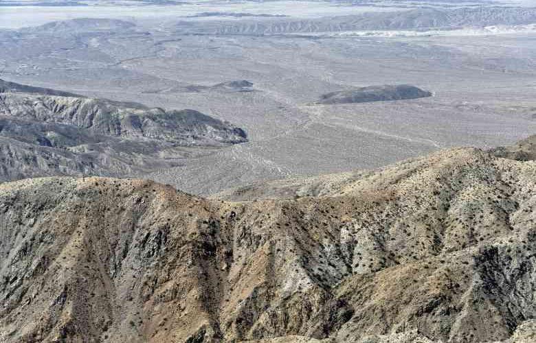il deserto di anza borrego california