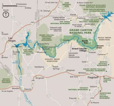 2Gran Canyon map