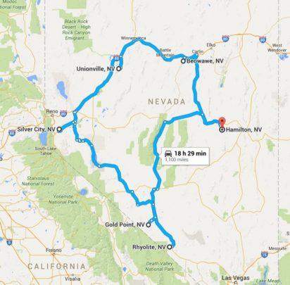 Le città fantasma del Nevada 2