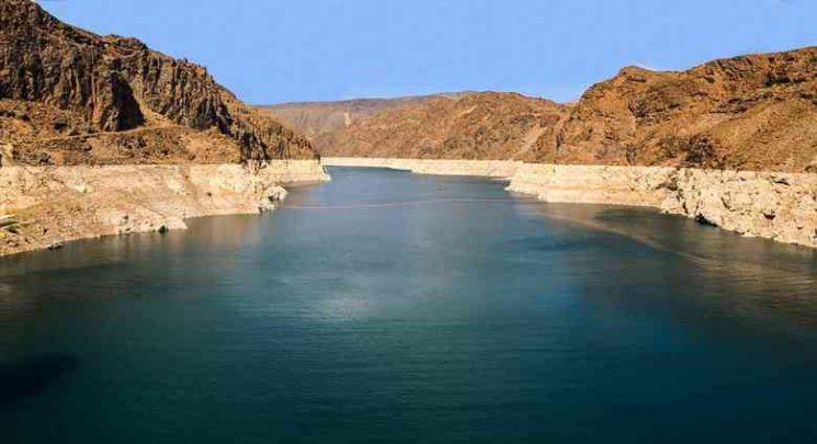 Nevada dam-Hover