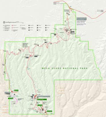 3Mesa Verde map