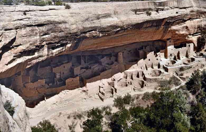 Parco nazionale di Mesa Verde in Colorado