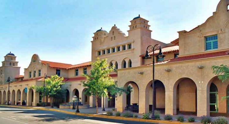 3Albuquerque Railroad Station
