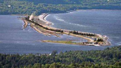 Attraverso la Nova Scotia Canada
